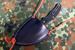 Our Hand Crafted Spyderco UKPK Hybrid Neck or Belt Sheath (Hold Open)