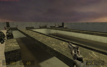 Screenshot of castle half life 2 map